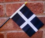 HAND WAVING FLAG (SMALL) - Cornwall
